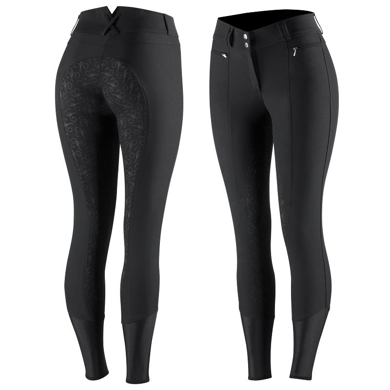 Product photo for HZ Angelina Ladies Silicone FS Breeches